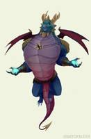 Bubba - Spyro Reignited by AlexanderHenderson