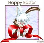 Black Jack Easter Bunny
