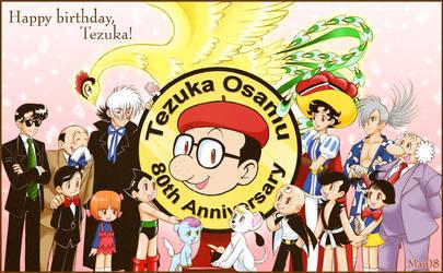Tezuka Osamu tribute by maiyeng