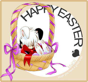 Easter Black Jack Bunny 09 by maiyeng