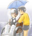 Umbrella - Black Jack + Makube by maiyeng