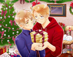 USUK Christmas 2012 by maiyeng