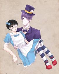 Kaneki in Wonderland