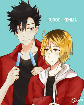 Here, this if for you Kenma