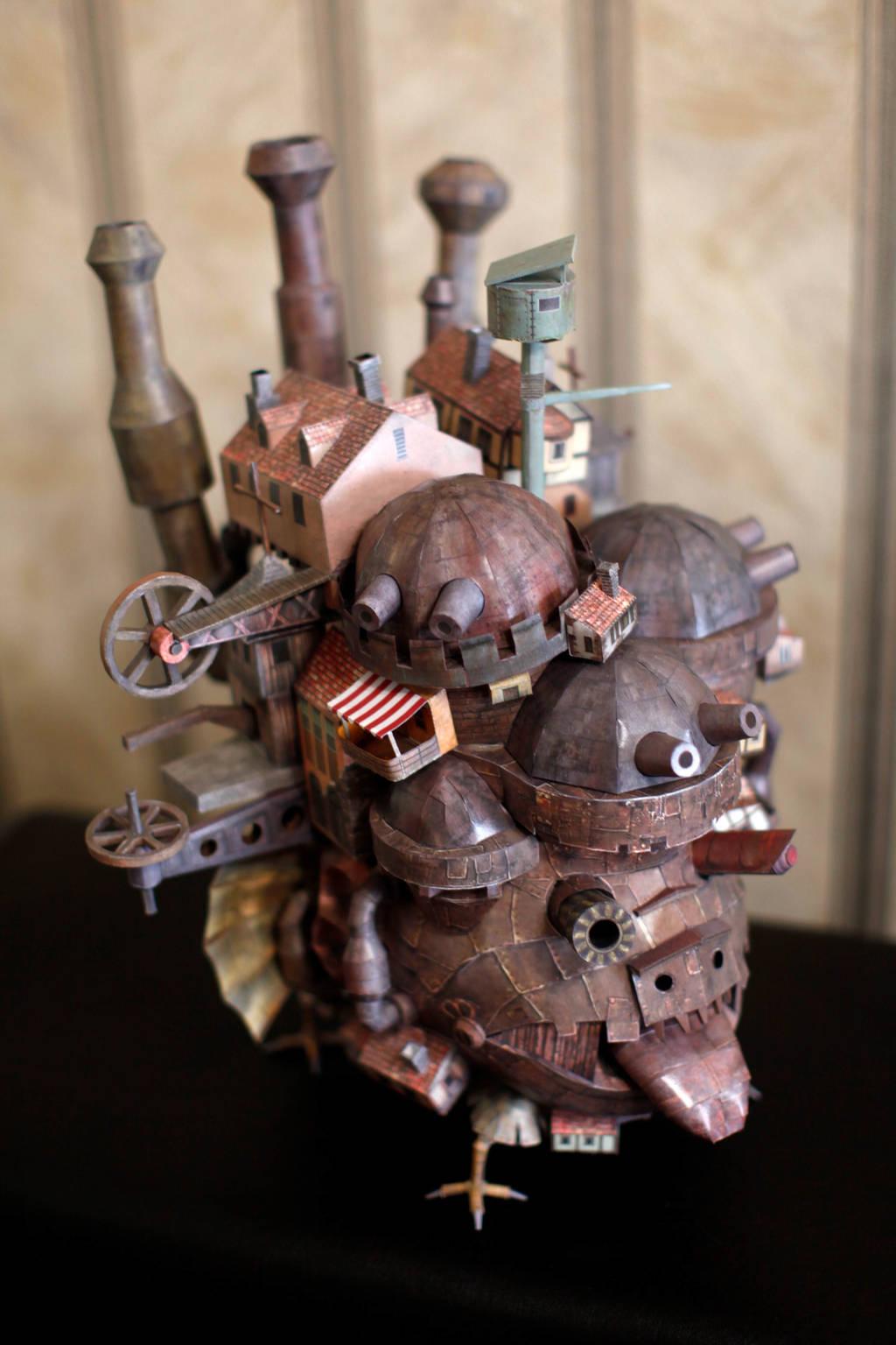 Howl's Moving Castle by WorkshopAyami