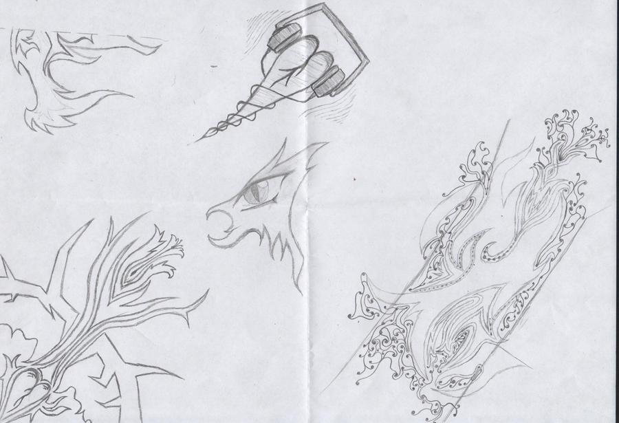 Tattoo page one by Dark-Chain-Chomp on deviantART