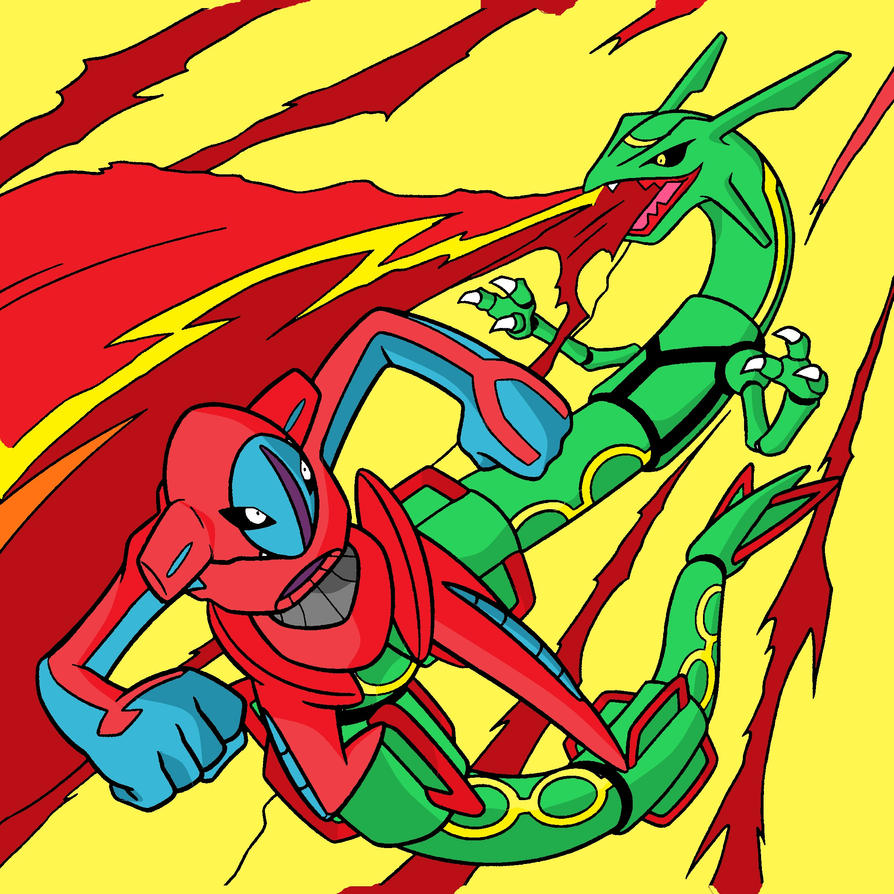rayquaza vs deoxys by ajg1998 on deviantart
