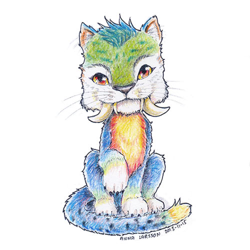 The croods chunky the kitten by anla on deviantart the croods chunky the kitten by anla voltagebd Choice Image