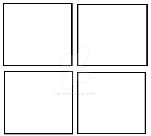 four panel comic strip template - freshmen comic 4 panel template by zodiacorange on deviantart