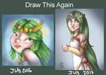 Palutena Draw this again challenge