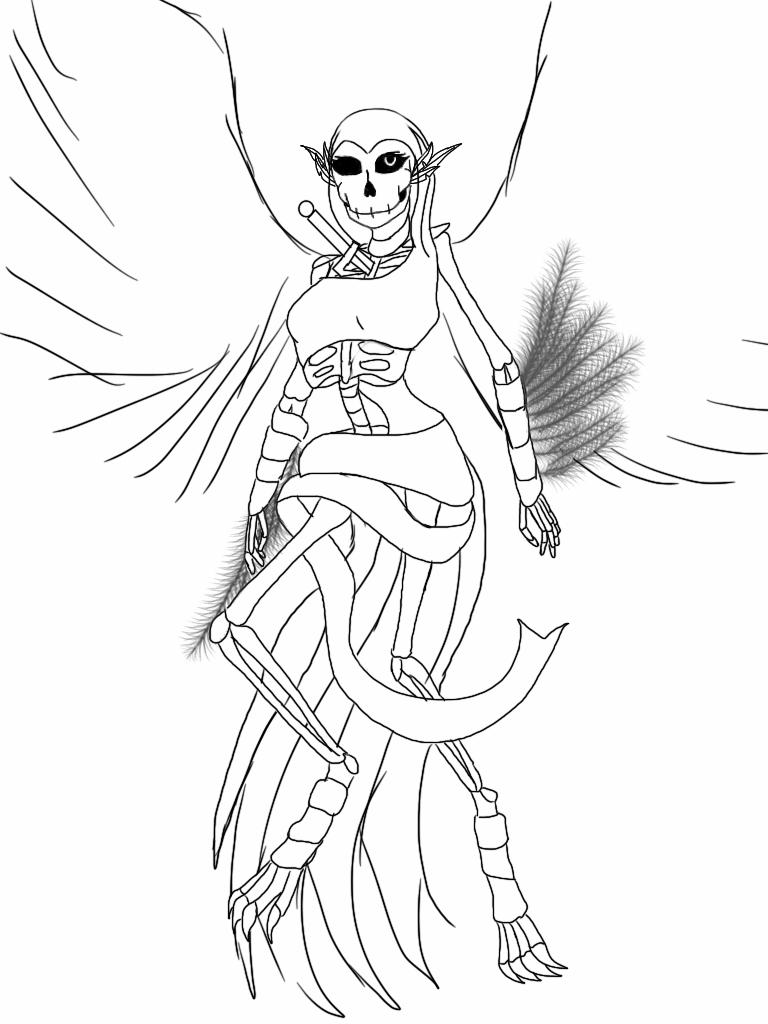 The deity by fmawolfbroalchamist