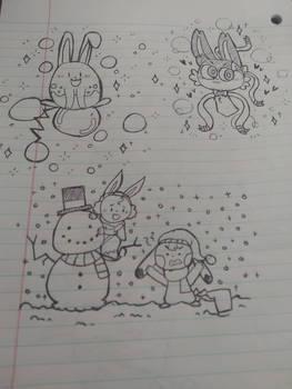 Poke doodles #1