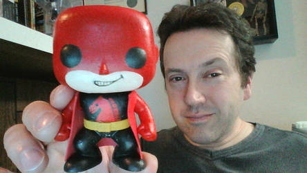 Red Knight Pop! Figure by justincristelli