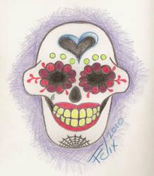 Sugar Skull Pencil