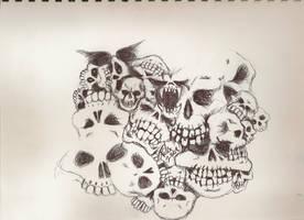 skulls again by T0P BRI4N