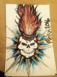Practice skull