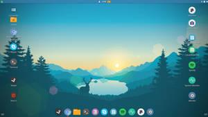 My Linux Mint Desktop Late February 2017