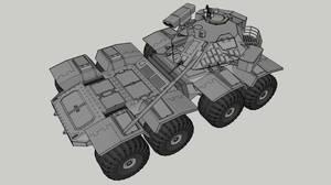 M881 Heavy Armoured Car