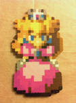 Peach - Super Mario RPG - Bead Sprite