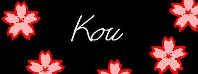 -sakured- Kou by KouZaraki-hates-you
