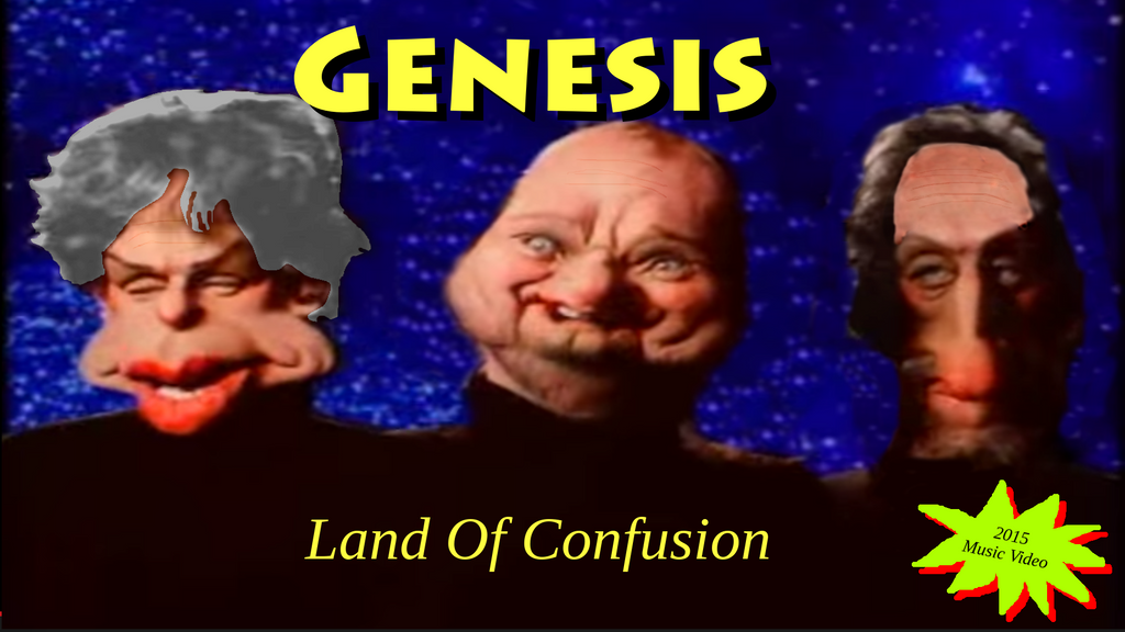 genesis land of confusion music video 2015 by. Black Bedroom Furniture Sets. Home Design Ideas