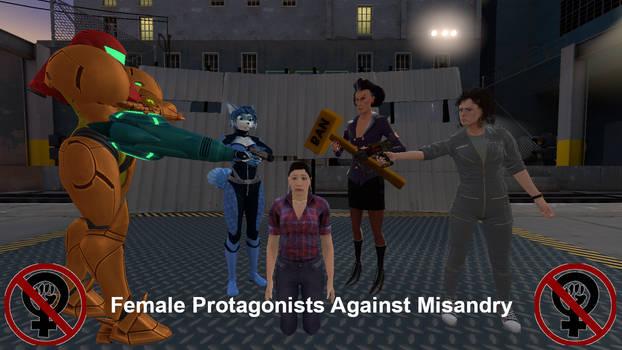Female Protagonists Against Misandry