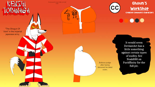 Ghoun's Workshop - Kenshi Toranaga by StarWars888