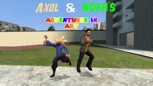 Axol And Noah's Adventures In Art