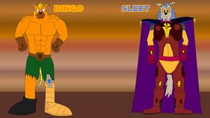 Sonic Modern Design - Dingo and Sleet