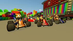 Mario Kart - On The Road Again