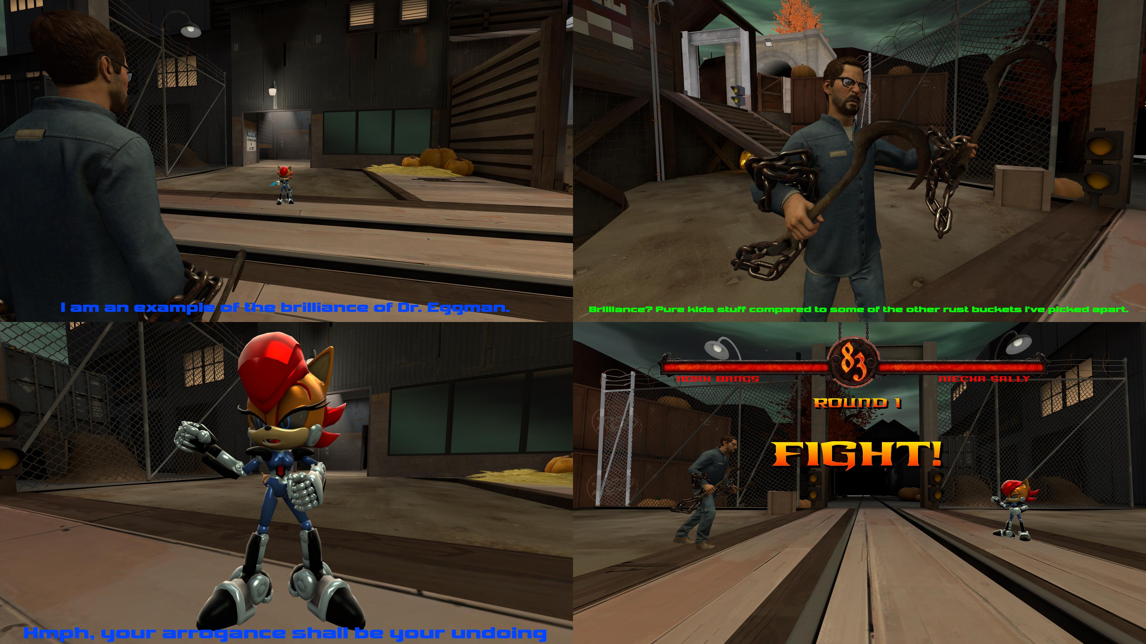 Mortal Kombat - Noah VS. Mecha Sally