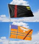 Flags - Riverside and The Asterlands