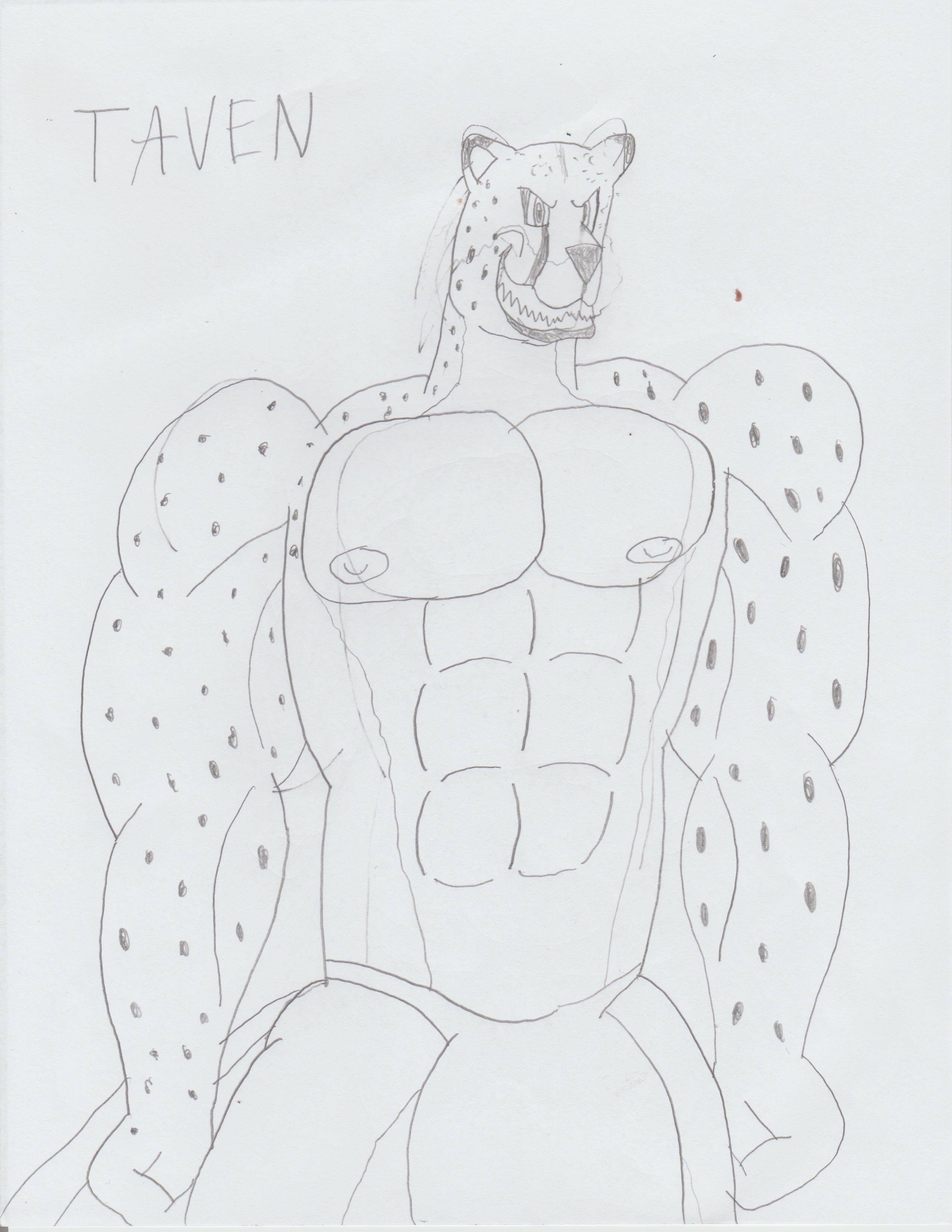 Sketch - Taven -Ghoun's Workshop-