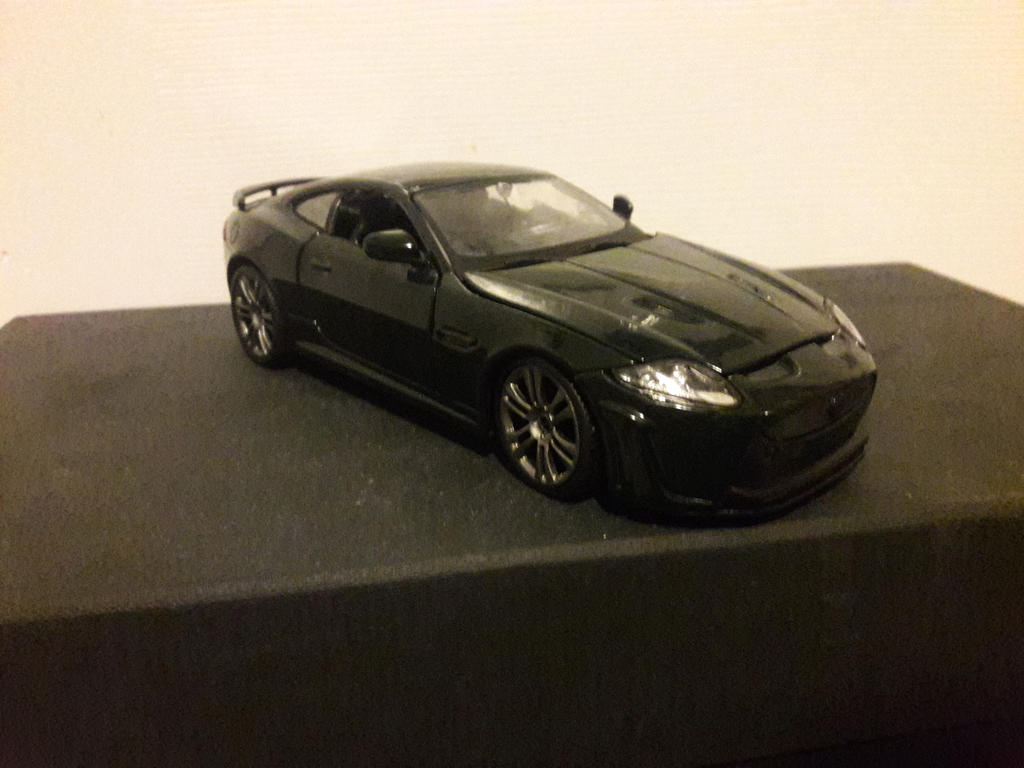 Burago, Jaguar XKRS kit by Fadeless451