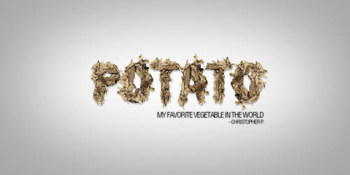POTATO by Painhatred