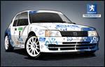 Peugeot 205 Maxi Rallycar