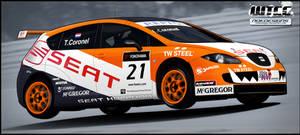 Seat Leon WTCC Coronel