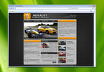 Club Renault Sport - Webdesign