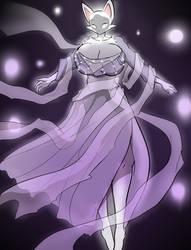 Ghost Kitty by Hayakain