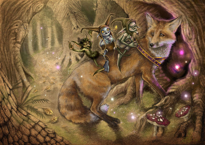 foxes and fairies wiki jr