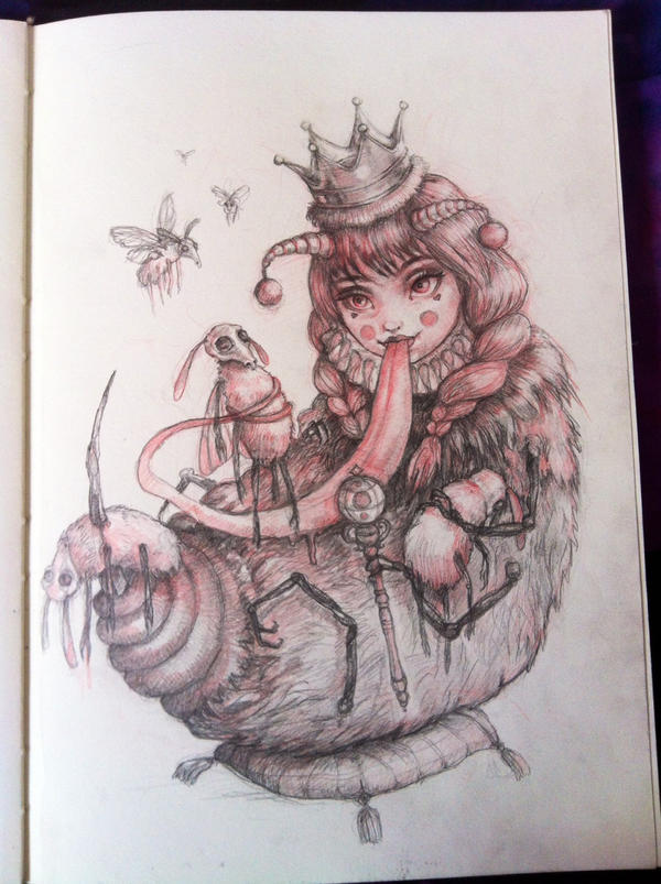 The Queen Bee is She by rose-colligan