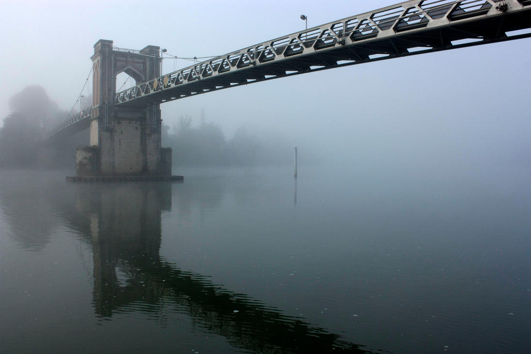 Mist - Bridge 1 by enkyl