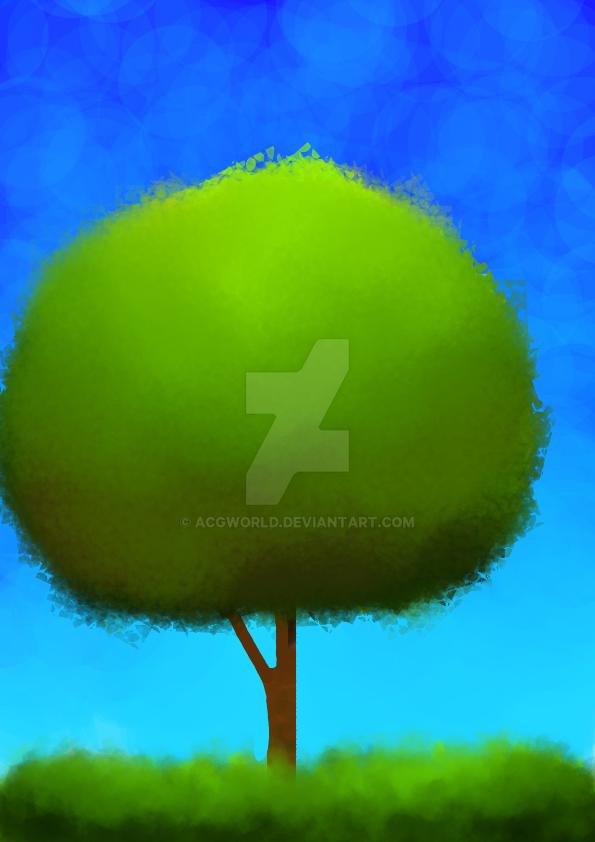 A tree by AcgWorld