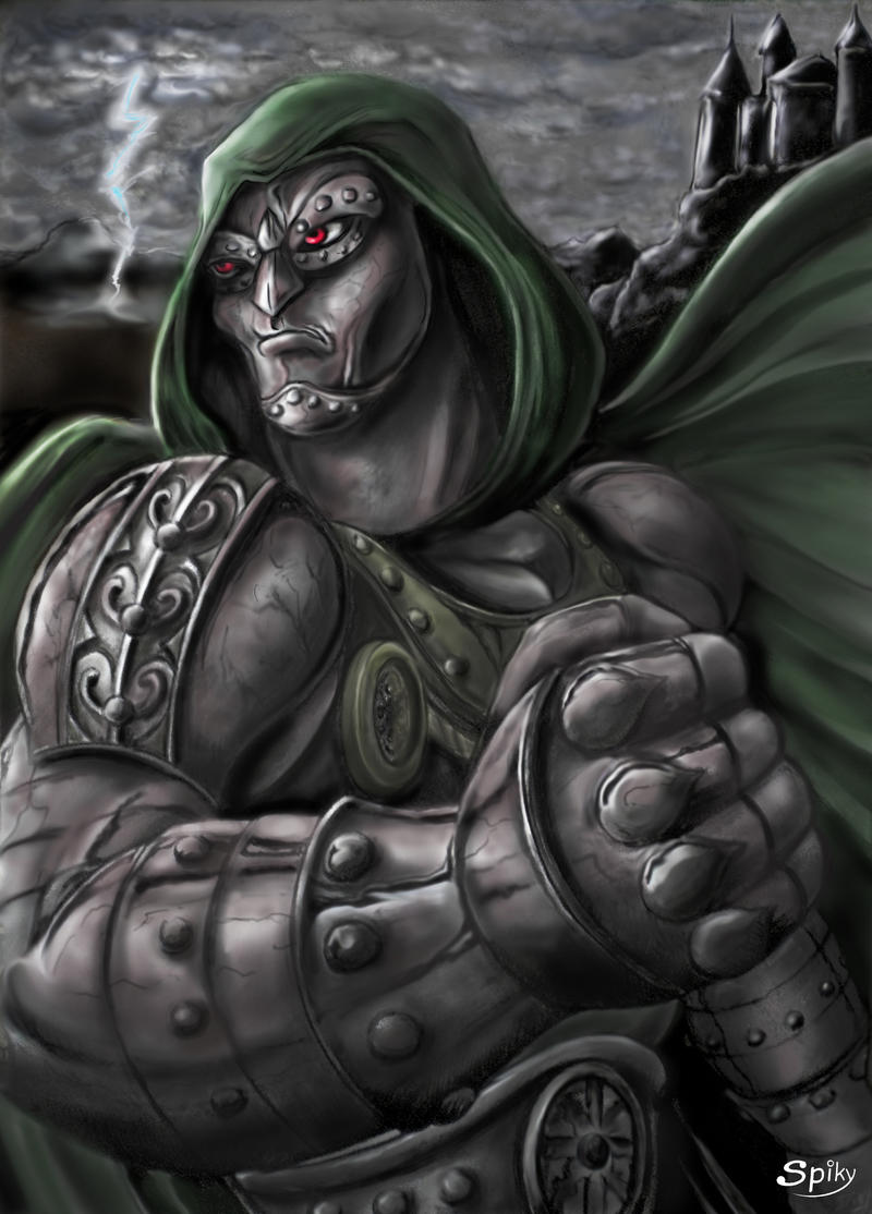 Fan Art Dr. Doom Marvel by spikybib