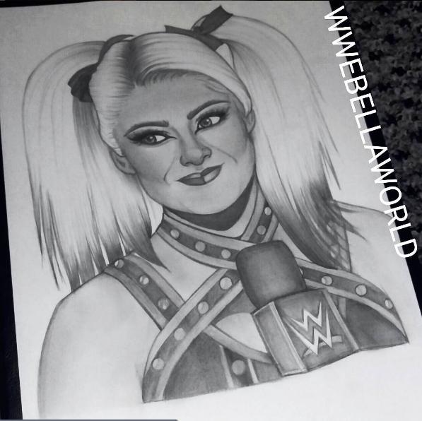 Alexa Bliss WWE by KristyMorrows
