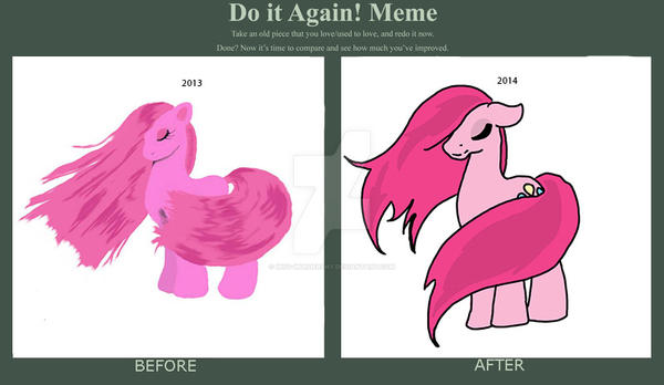 Draw it again meme by Miss-MurderShy