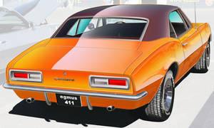 1967-Chevrolet Camaro