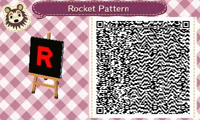 Rocket Pattern QR Code by GamerStunner27