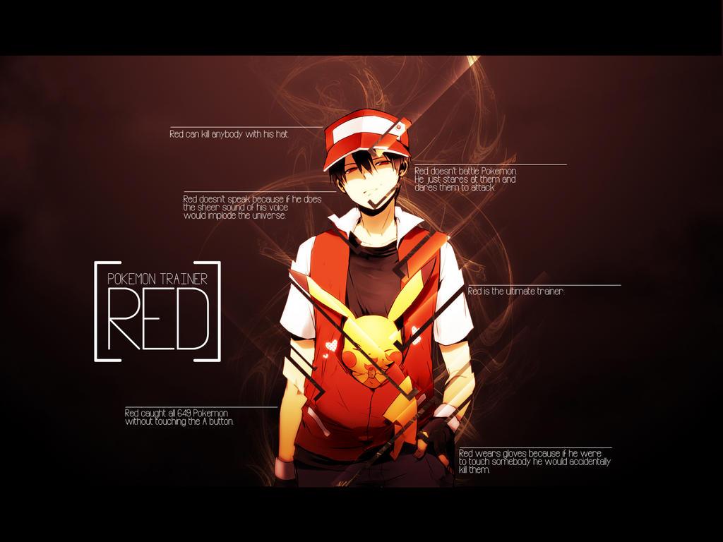 Pokemon Trainer Red by betamax777