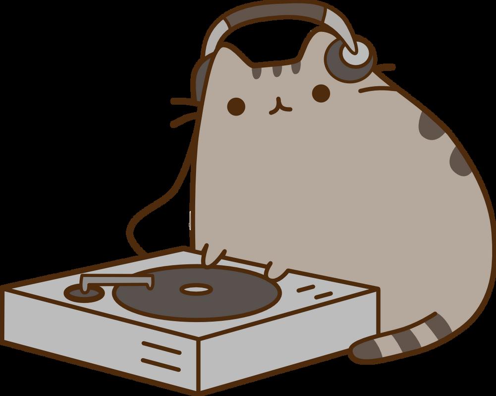 DJ Pusheen by betamax777
